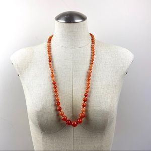 Vintage Graduated Beaded Necklace